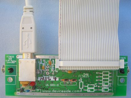 Fc5025 Usb 5 25 Quot Floppy Controller Device Side Data